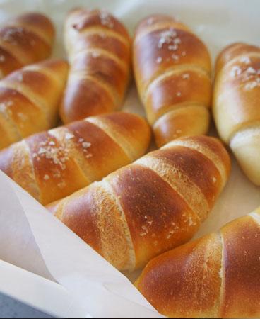 奶油蜂蜜面包