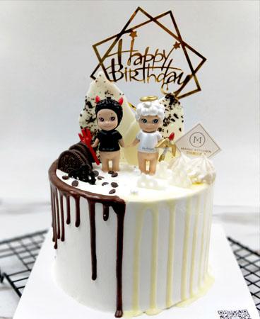 星座蛋糕-双子座